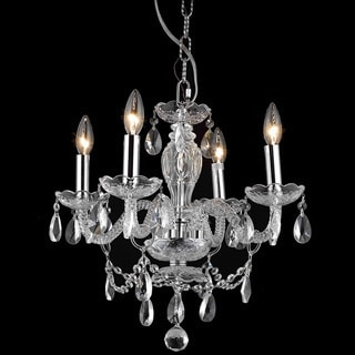 Somette Crystal 57179 4-light Chandelier