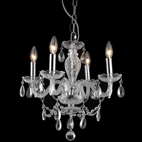 Somette Crystal 57179 4-light Chandelier