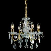 Somette Crystal 64856 4-light Chandelier