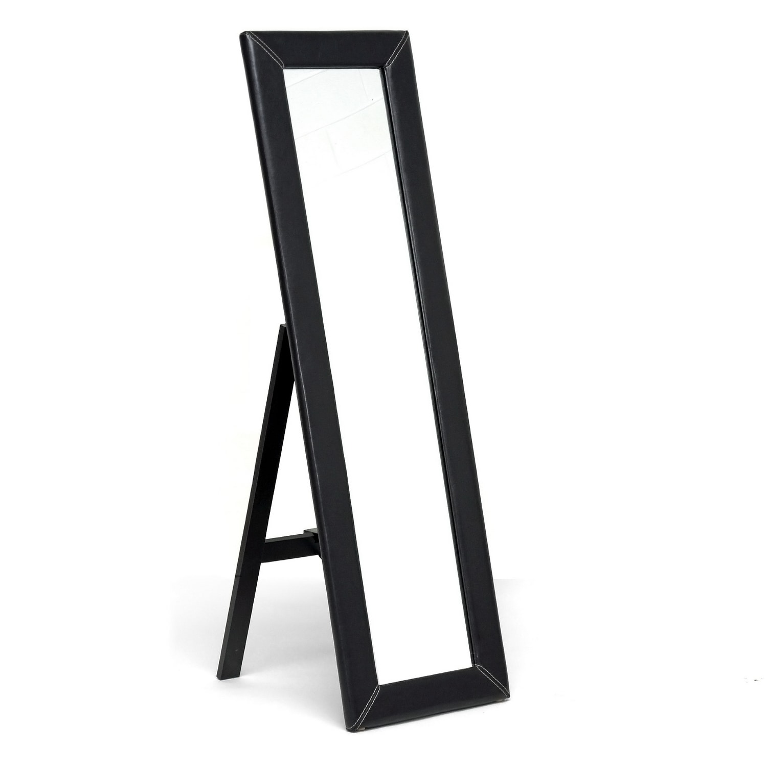 McLean Dark Brown Modern Mirror