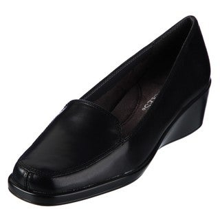 Aerosoles Women's 'Final Exam' Tailored Wedge Loafers