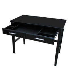 thumbnail kevin black writing desk - Black Writing Desk