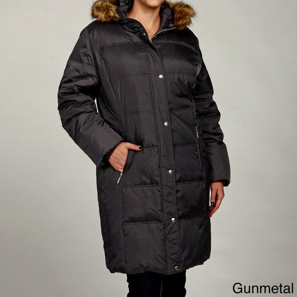 MICHAEL Michael Kors Women's Plus Size Down Coat FINAL SALE