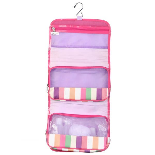 17c486b03355 Shop Modella Fitted Hanging Organizer with Travel Bottles - Free ...