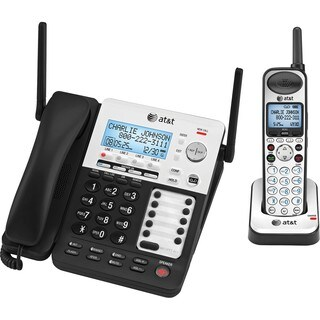 AT&T SynJ SB67138 DECT Cordless Phone - Silver