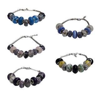Silvertone Copper Charm Bracelet|https://ak1.ostkcdn.com/images/products/6081226/P13752612.jpg?impolicy=medium