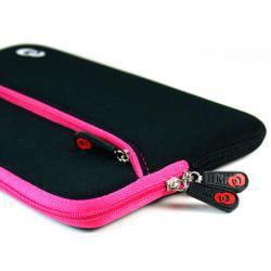 Kroo Seven-inch Water-resistant Neoprene eReader Sleeve with Zipper - Thumbnail 1