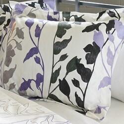 Grace Purple 3-Piece King-size Comforter Set - Thumbnail 1