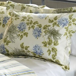 Water Flower Ivory Full/ Queen-size 3-piece Comforter Set - Thumbnail 1