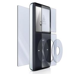 Antiscratch LCD Screen Protector for Apple iPod Classic (Pack of Four)