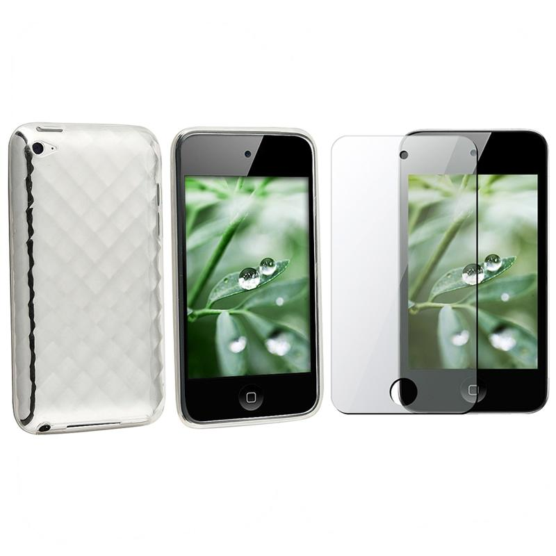 Case/ Screen Protector for Apple iPod iTouch 4th Gen - Thumbnail 0