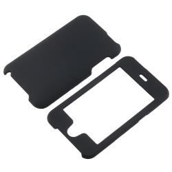 INSTEN Black Rubber Coated iPod Case Cover for Apple iPod touch 2nd/ 3rd Generation - Thumbnail 1