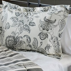 Cordoba Grey Twin-size 2-piece Duvet Cover Set - Thumbnail 1