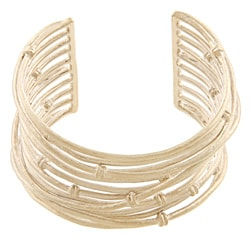 Rivka Friedman 18k Goldplated Satin Knotted Mina Cuff Bracelet