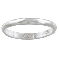 Silvermoon Sterling Silver Children's Band (Option: 2)