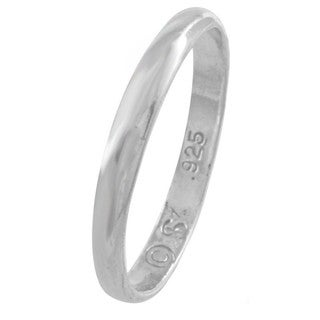 Silvermoon Sterling Silver Children's Band