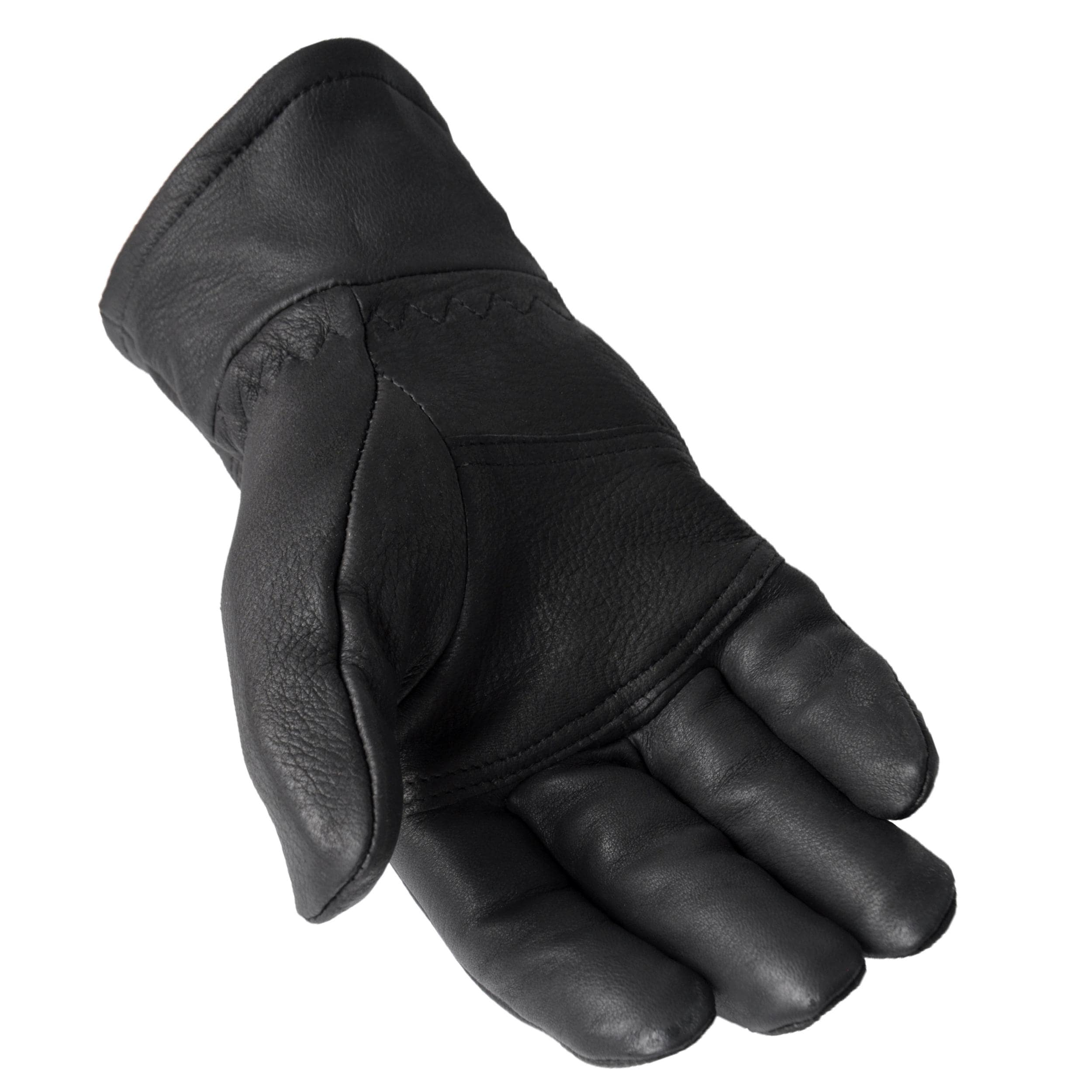 Ladies leather gloves navy - Mens Black Leather Gloves Lined Black Leather Deerskin Gloves Daxx Men S Lined Top Grain