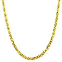 Fremada 14k Yellow Gold Popcorn Chain (20-inch)