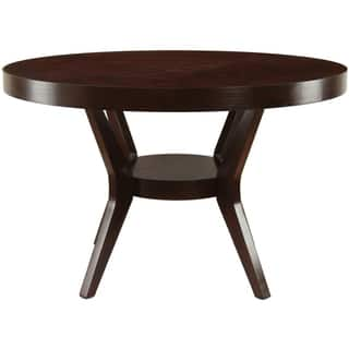 the gray barn elsinora espresso dining table - Dining Room Table Wood