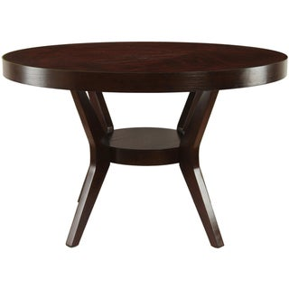 Link to Furniture of America Mandurah Transitional Espresso Dining Table Similar Items in Dining Room & Bar Furniture