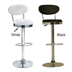 Height-Adjustable Swivel Beer Bar Stool Chair