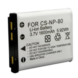 INSTEN Battery/ Charger Set for Casio Exilim NP-80/ EX-Z550/ EX-Z330 (Refurbished) - Thumbnail 2