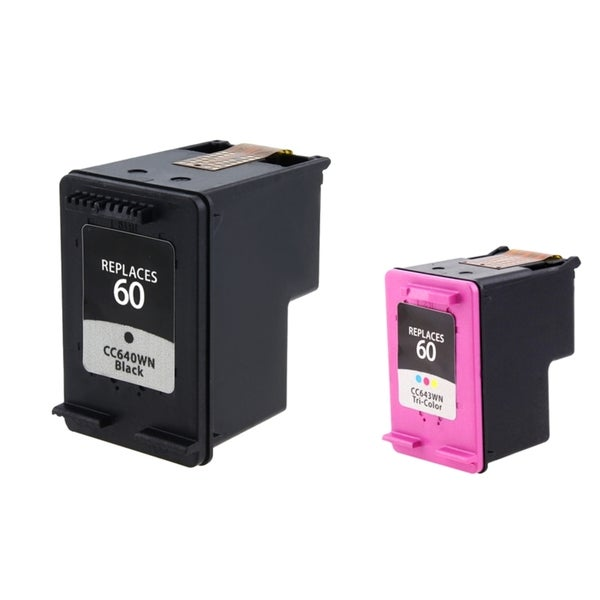 HP 60  Black/Color Ink Cartridges (Remanufactured)