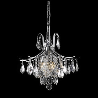 Somette Crystal Chrome 6-light 64955 Collection Chandelier
