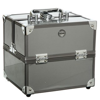 SOHO Manhattan Silver Beauty Case