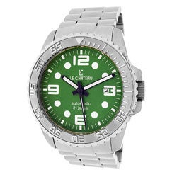 Le Chateau Men's Sport Dinamica Automatic Watch with Green Dial