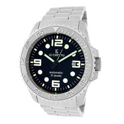 Le Chateau Men's Sport Dinamica Automatic Watch with Black Dial