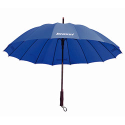 Mossi 40-inch Deluxe Navy Blue Umbrella
