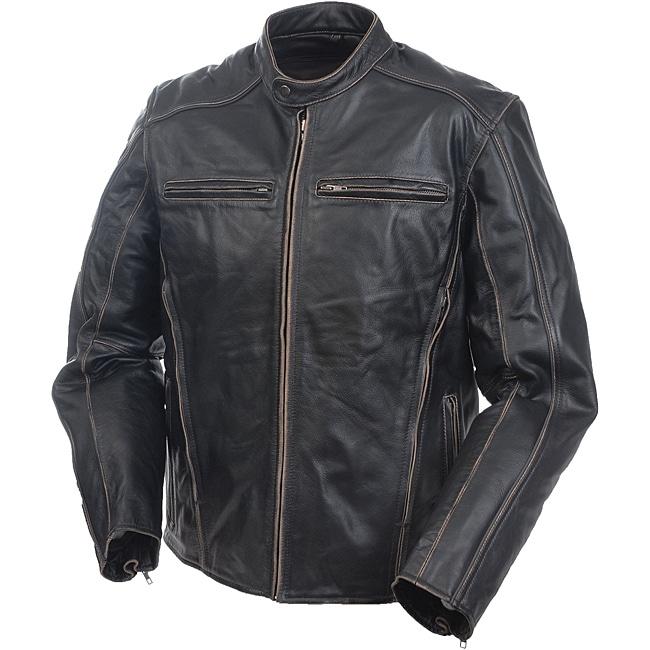 Mossi Men's Premium Leather Jacket