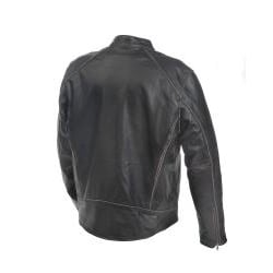 Mossi Men's Premium Leather Jacket - Thumbnail 1