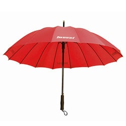 Mossi 40-inch Deluxe Red Umbrella