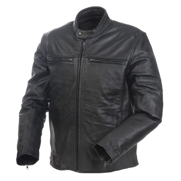 Mossi Men's Cruiser Premium Leather Jacket
