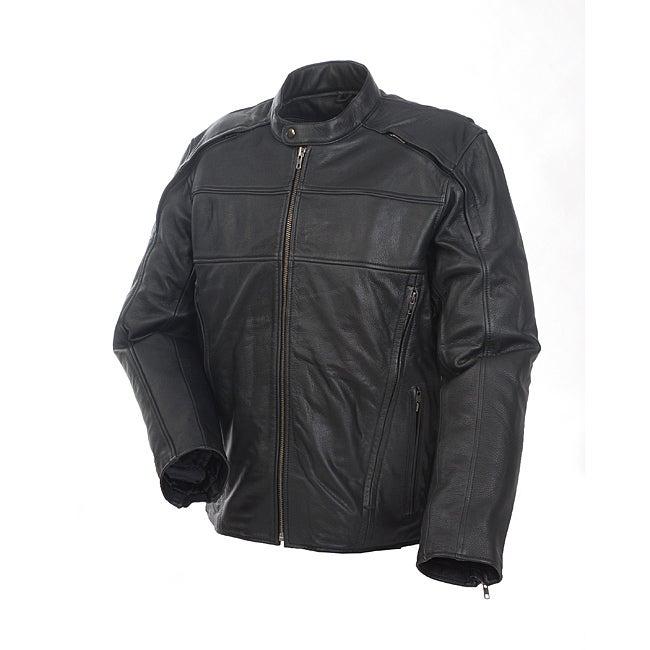 Mossi Men's 'Retro' Premium Leather Jacket