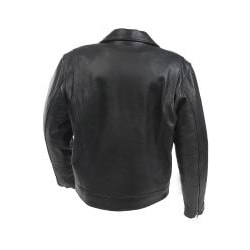 Mossi Men's 'Police' Premium Leather Jacket