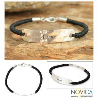 Handmade Sterling Silver 'Spirit of Hope' Bracelet (Thailand)