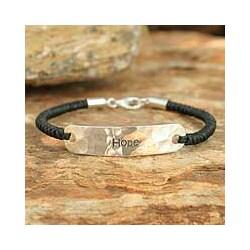 Sterling Silver 'Spirit of Hope' Bracelet (Thailand)