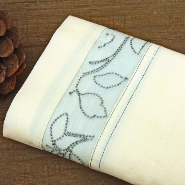 Lawrence Home Fashions Anika Embroidered Hem Sheet Set