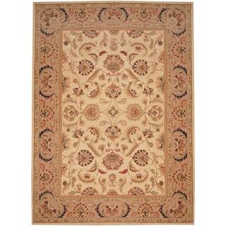Herat Oriental Asian Hand-tufted Tabriz Wool Rug (8' x 11')