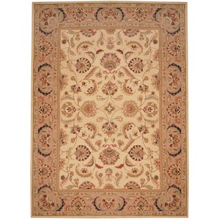 Handmade Herat Oriental Asian Tabriz Wool Rug - 8' x 11' (China)