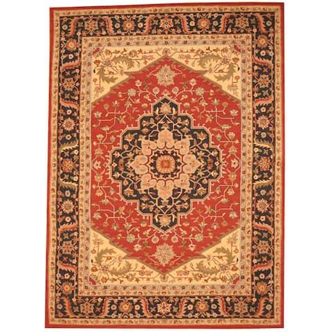 Handmade Heriz Wool Rug