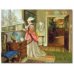 John Atkinson Grimshaw 'Summer' Gallery-Wrapped Canvas Art
