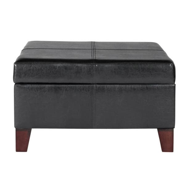 Fantastic Shop Copper Grove Silene Luxury Large Black Faux Leather Machost Co Dining Chair Design Ideas Machostcouk