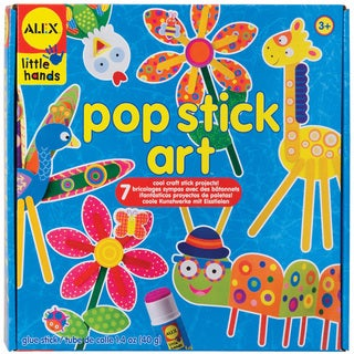 Alex Toys Little Hands Pop Stick Art Kit
