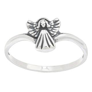 Silvermoon Sterling Silver Angel Ring|https://ak1.ostkcdn.com/images/products/6085021/P13755571.jpg?impolicy=medium