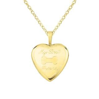 14k Gold and Silver 'My Best Friend' Heart-shaped Locket Necklace|https://ak1.ostkcdn.com/images/products/6085155/P13755641.jpg?impolicy=medium