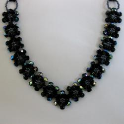 Handmade Crystal and Beaded Venus Necklace (USA)